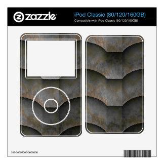 Obra clásica extranjera de iPod de la placa del ca Skins Para iPod