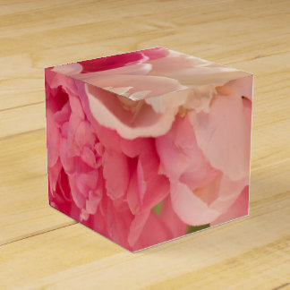 Obra clásica floral 2x2 cajas para regalos de boda