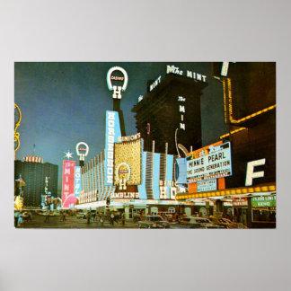 Obra clásica Las Vegas céntrico Póster