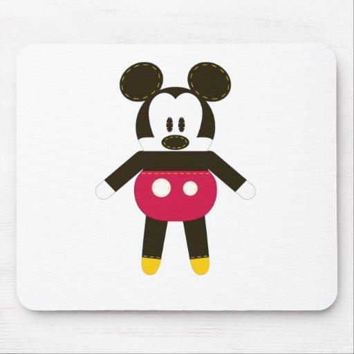 Obra clásica Mickey de Pook-a-Looz Tapete De Ratón