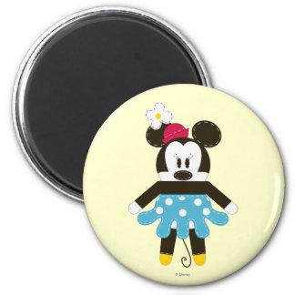 Obra clásica Minnie Mouse de Pook-a-Looz Imanes