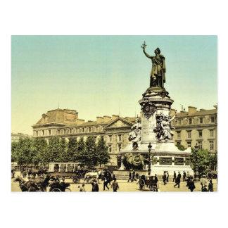 Obra clásica Phot de Place de la Republique París Tarjetas Postales