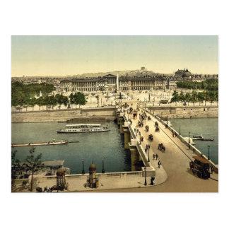 Obra clásica Photoc de la plaza de la Concordia, P Tarjeta Postal