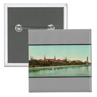 Obra clásica Photochrom del hotel de Tampa Bay Pins