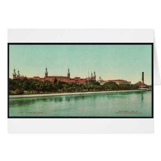 Obra clásica Photochrom del hotel de Tampa Bay Felicitaciones