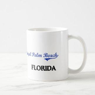 Obra clásica real de la ciudad de la Florida del Taza Básica Blanca