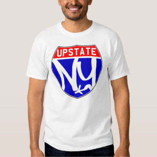 Obra clásica Upstate T Playera