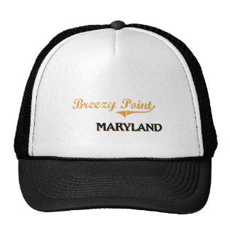 Obra clásica ventosa de Maryland del punto Gorras