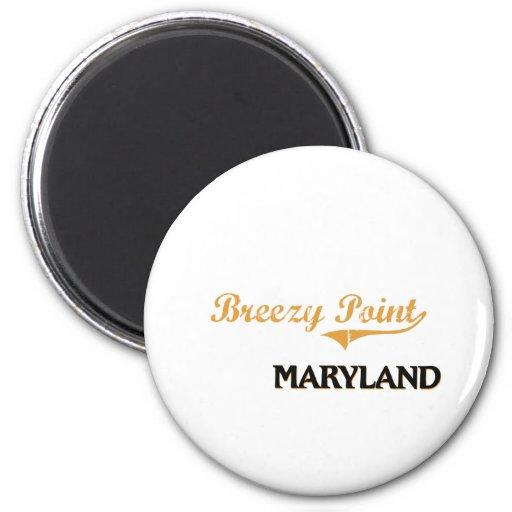 Obra clásica ventosa de Maryland del punto Imán Redondo 5 Cm