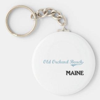 Obra clásica vieja de la ciudad de Maine de la Llavero Redondo Tipo Pin