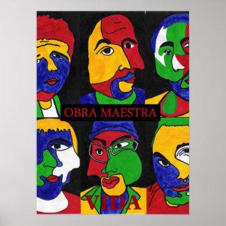Obra Maestra 16 x 20 poster