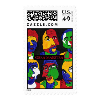 Obra Maestra Album front Stamp