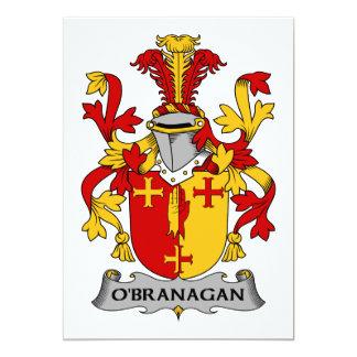 O'Branagan Family Crest Card