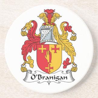 O'Branigan Family Crest Drink Coasters