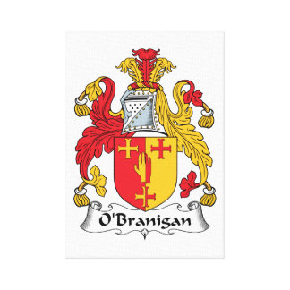 O'Branigan Family Crest Gallery Wrapped Canvas