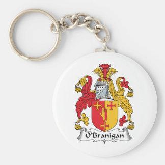 O'Branigan Family Crest Keychain