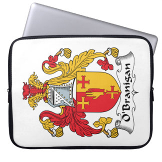 O'Branigan Family Crest Laptop Computer Sleeves