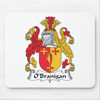 O'Branigan Family Crest Mouse Mat