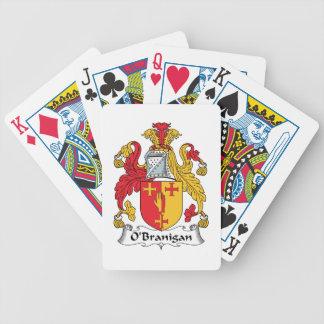 O'Branigan Family Crest Poker Cards
