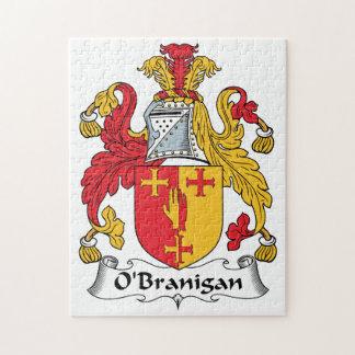 O'Branigan Family Crest Puzzle