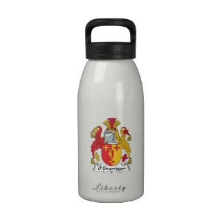 O'Branigan Family Crest Reusable Water Bottle