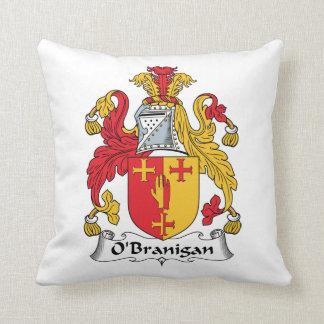 O'Branigan Family Crest Throw Pillows