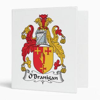 O'Branigan Family Crest Vinyl Binder