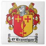 O'Brannigan Family Crest Tile