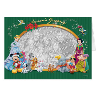 Obras clásicas de Disney: Tarjeta de felicitacione