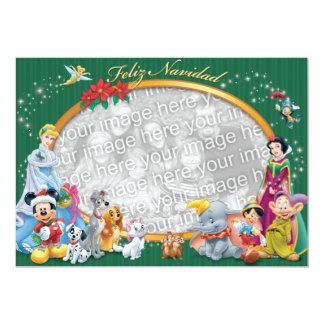 """Obras clásicas de Disney: Tarjeta de Feliz Navidad Invitación 5"""" X 7"""""""