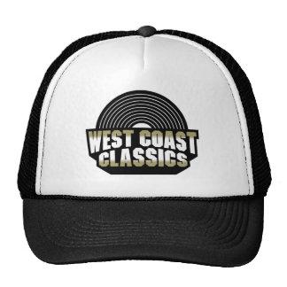 Obras clásicas de la costa oeste gorros