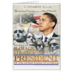 Obras clásicas de la herencia de Obama Felicitación