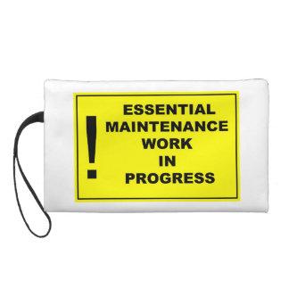 Obras en fase de creación esenciales del mantenimi