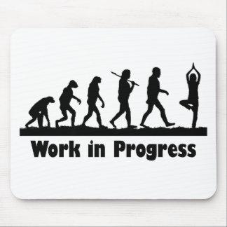 Obras en fase de creación (yoga) tapete de raton