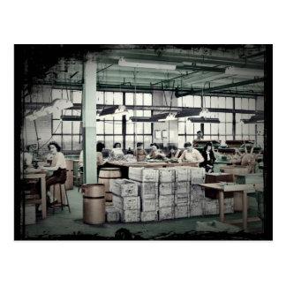 Obreros WWII de las mujeres Tarjetas Postales