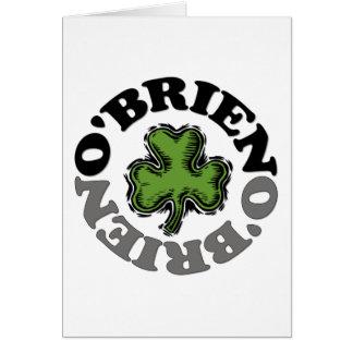 O'Brien Card
