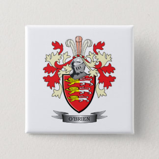 O'Brien Coat of Arms Pinback Button