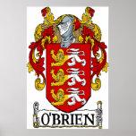 O'Brien Coat of Arms Print