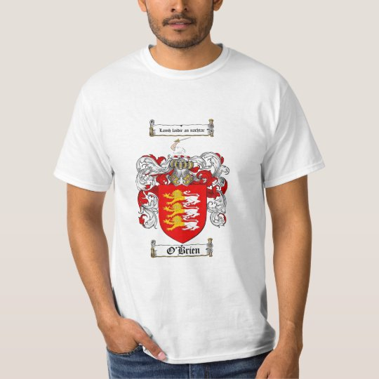 O'Brien Family Crest - O'Brien Coat of Arms T-Shirt