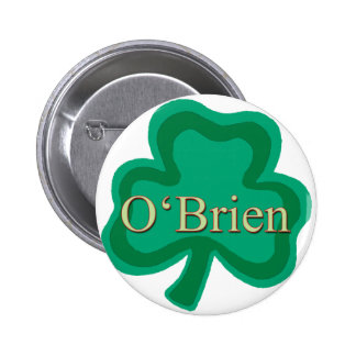 O'Brien Family Pinback Buttons