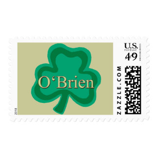 O'Brien Family Postage Stamps