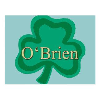 O'Brien Family Postcard