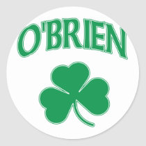 O'Brien Irish Classic Round Sticker