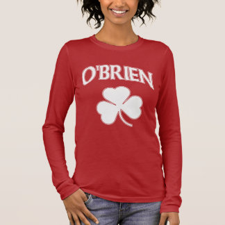 O'Brien Irish Shamrock Long Sleeve T-Shirt
