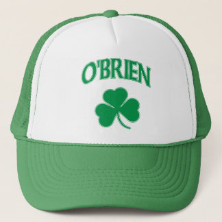 O'brien Irish Shamrock t shirt Trucker Hat