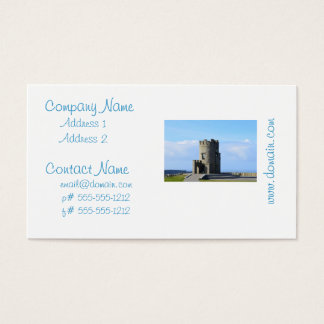 O'Brien's Tower on the Cliffs of Moher Business Card