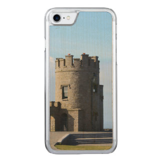 O'Brien's Tower on the Cliffs of Moher Carved iPhone 7 Case