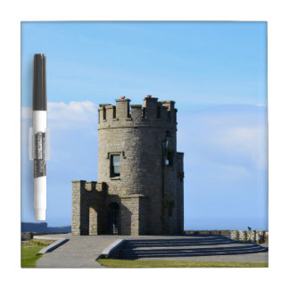 O'Brien's Tower on the Cliffs of Moher Dry-Erase Board