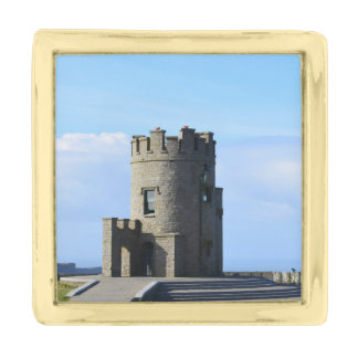 O'Brien's Tower on the Cliffs of Moher Gold Finish Lapel Pin