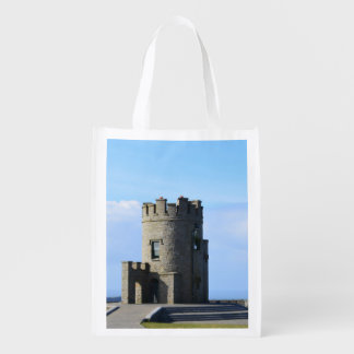 O'Brien's Tower on the Cliffs of Moher Grocery Bag